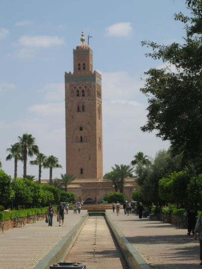 Photo of the Koutoubia minaret