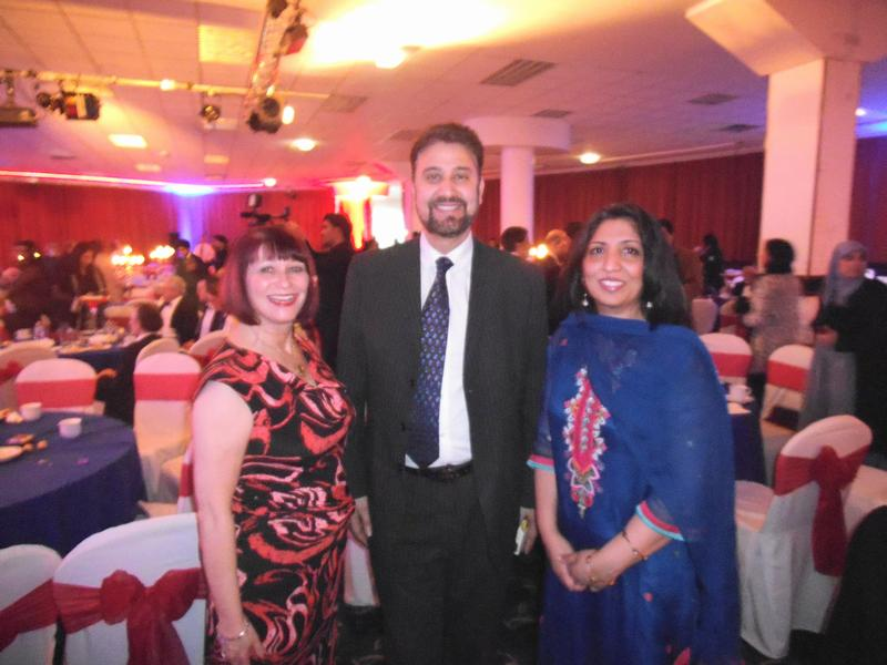 Photo from Muslim Awards 2013 dinner