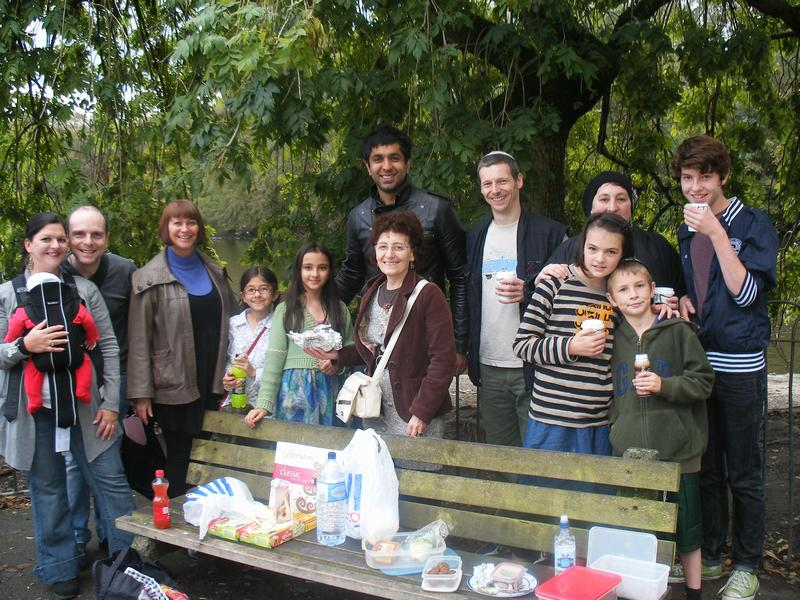 Group photo from interfaith picnic on 18 September 2011